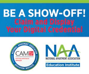CAM Digital Badge