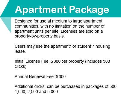 Apartment Package