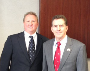 (left to right) Chris Carter and Senator Jim DeMint