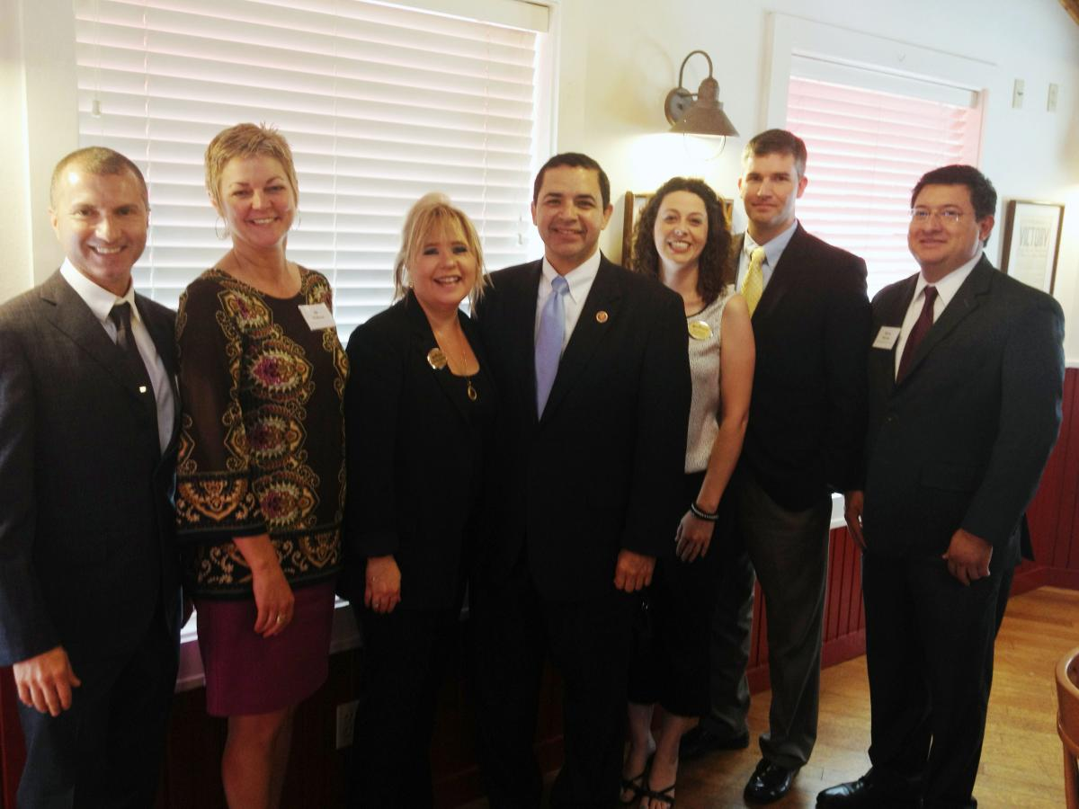 NAA Members with Rep. Henry Cuellar