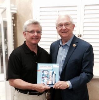 Jeff Lowry and Congressman Neugebauer