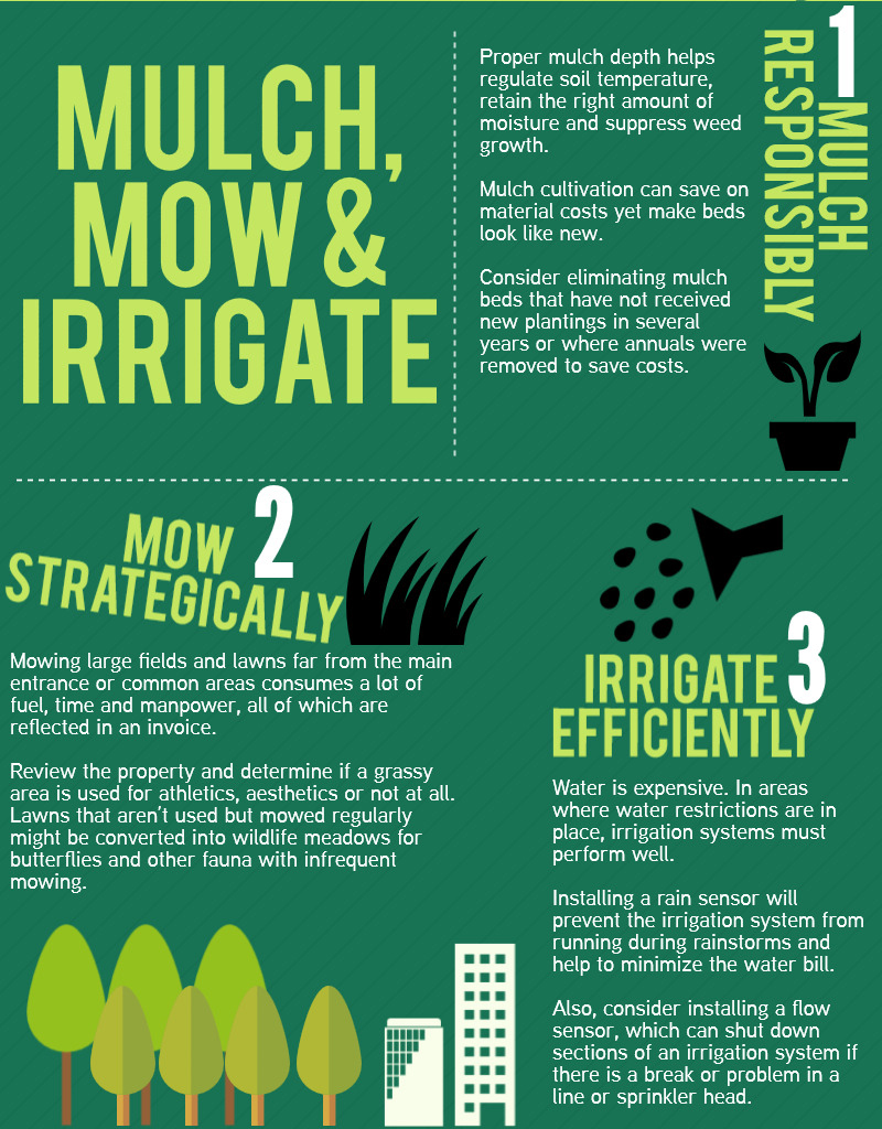 Online Job Search >> Infographic: 7 Ways to Trim Your Landscaping Bill | National Apartment Association