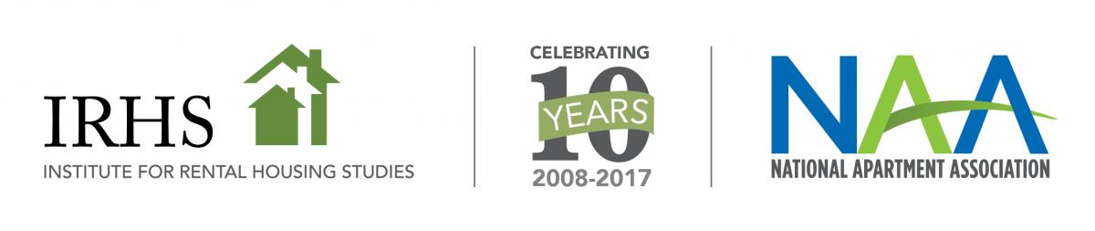 IRHS NAA 10 Year Logo