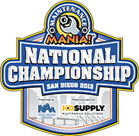 Maintenance Mania National Championship Logo