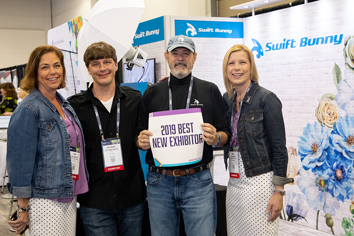 2019 NAA Exposition Booth Winner: Best Booth Staff