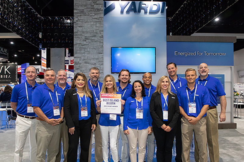 Best Island Booth: Yardi