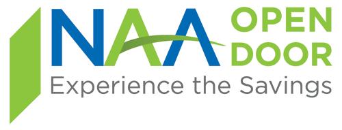NAA Open Door logo