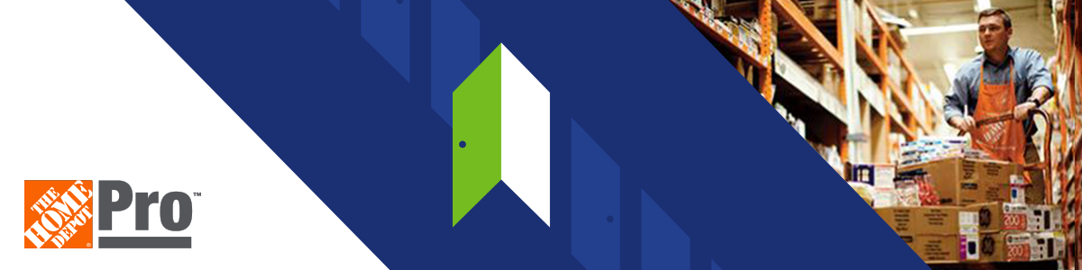 NAA Open Door Saving Program: The Home Depot banner